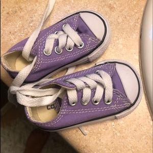Infant hardsole converse